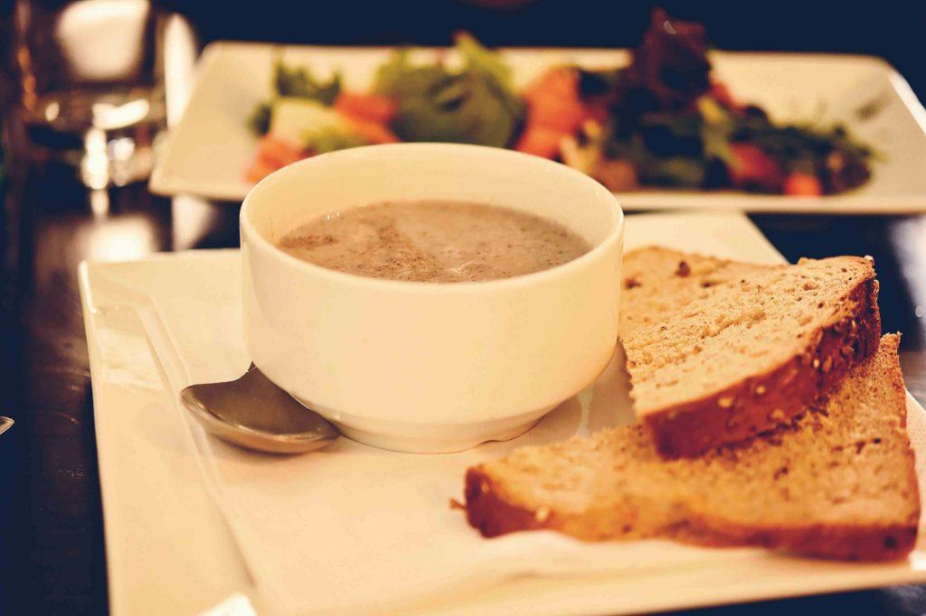 mushroom soup, catherine wheel