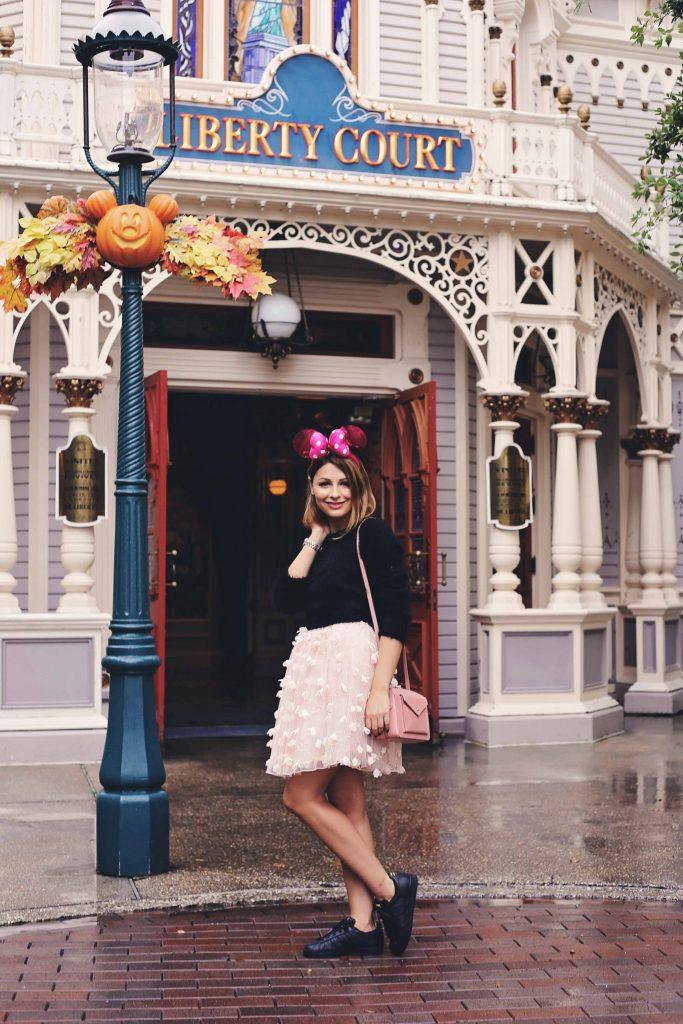Minnie Me In Disneyland