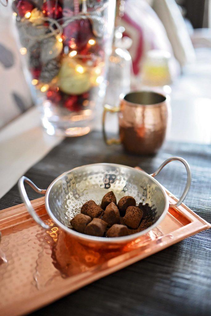 Bioglan cocoa powder truffle