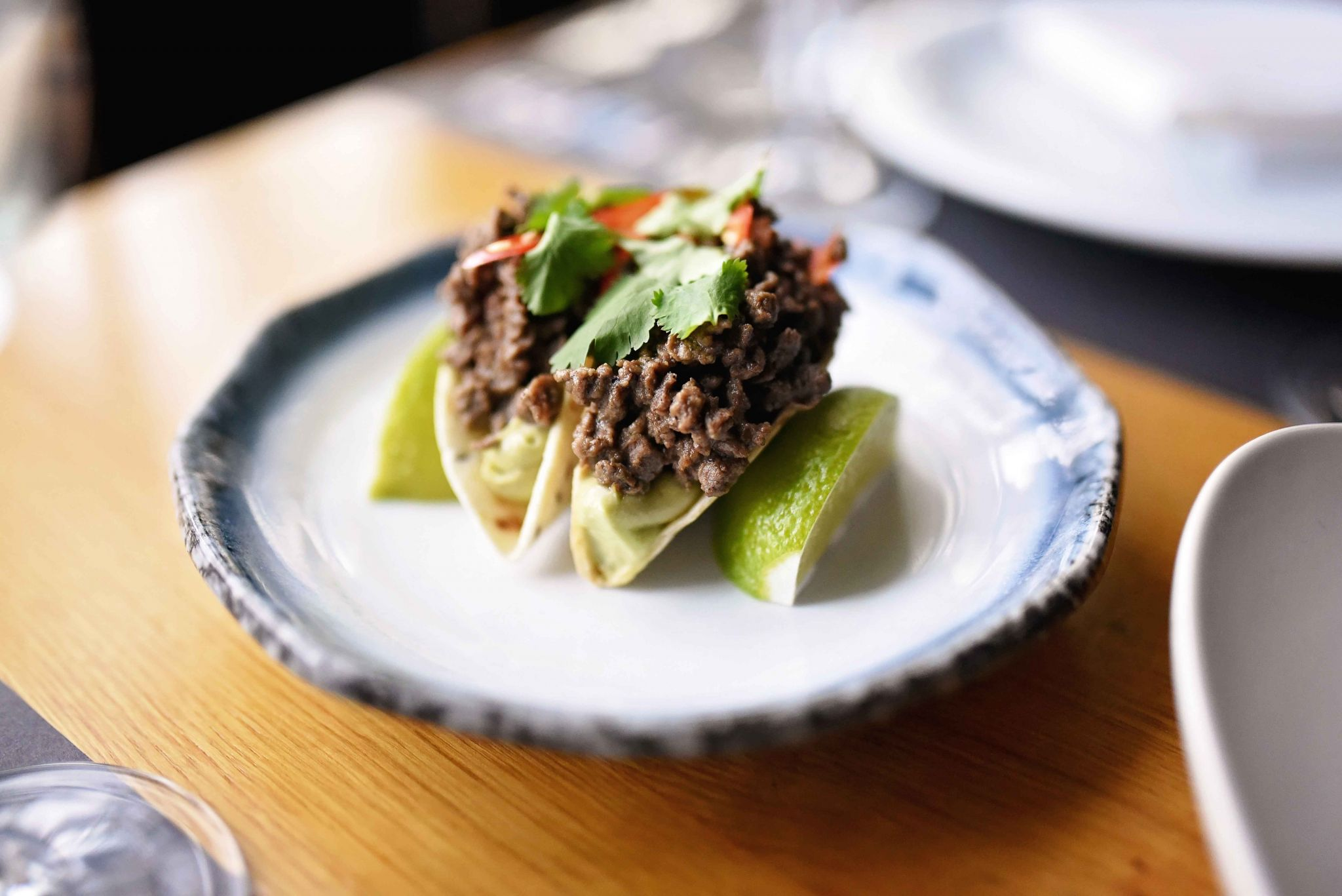wagyu mini tacos nuba bucharest
