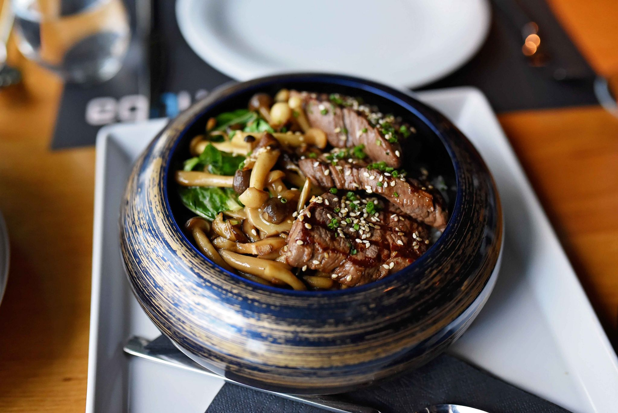 BEEF DONBURI nuba bucharest