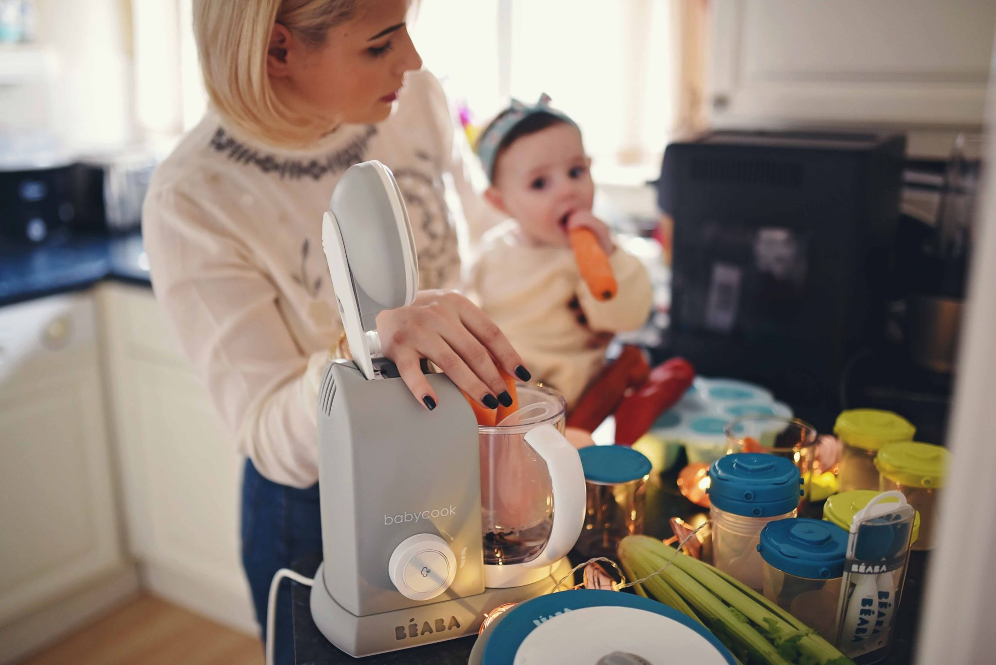 How To Defrost And Reheat Baby Food In Beaba